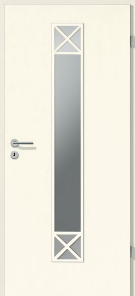 Porte int rieure contemporaine croisillons la 1 - Porte interieure contemporaine ...