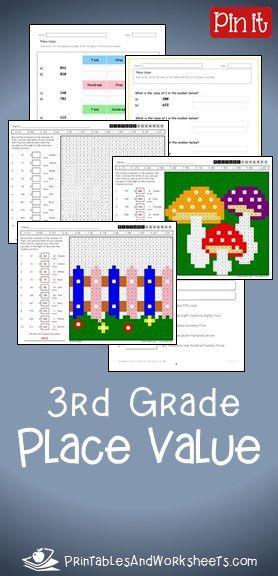 3rd Grade Place Value Worksheets 3rd Grade Math Worksheets