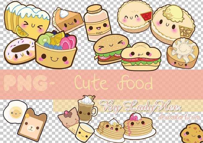 Png Cute Food By Ladyhee On Deviantart Cute Food Cute Cakes Kawaii Drawings