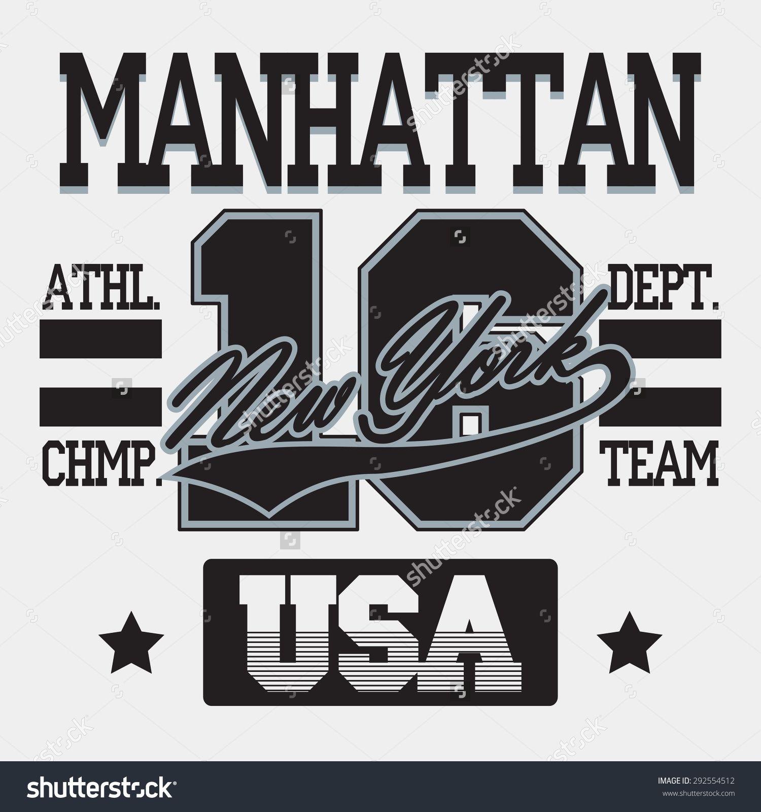 Design a t shirt nyc - Stock Vector New York City Typography Graphics Manhattan