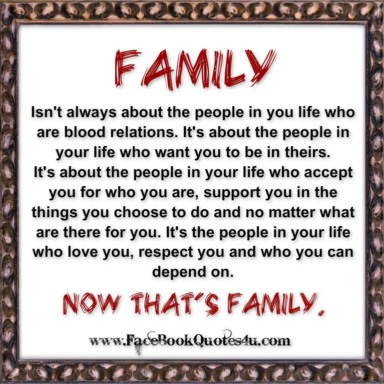 Best Family Quotes For Facebook: Facebook Everyday Quote Saying