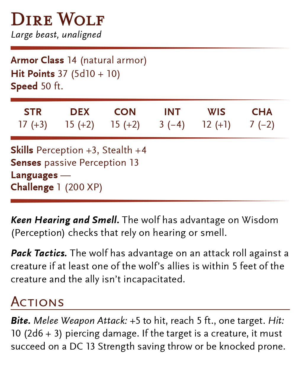 Dire Wolf   RPG   Compendium in 2019   Dire wolf, Dungeons