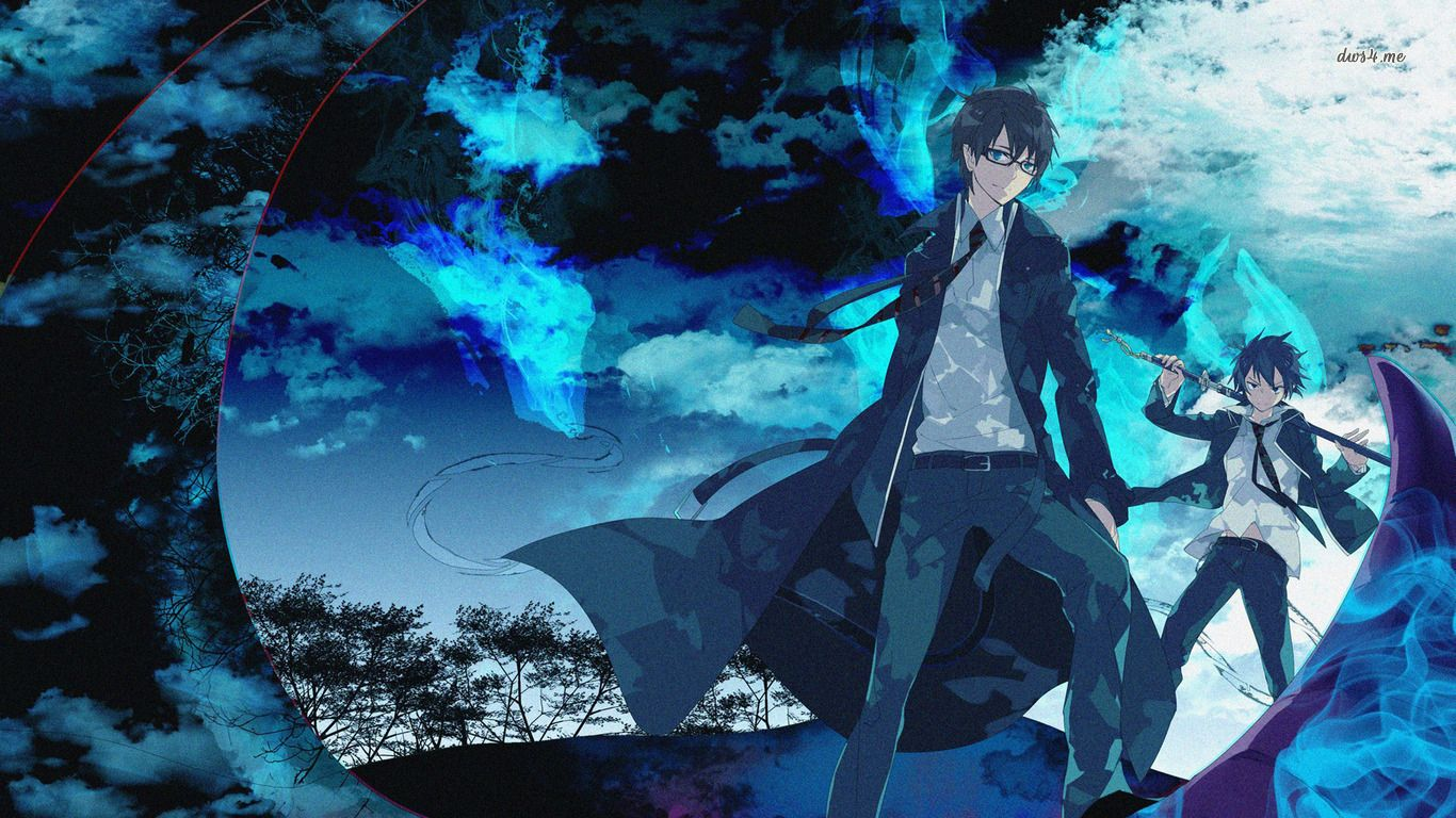 Blue Exorcist Wallpaper Anime Game Backgrounds Blue Exorcist