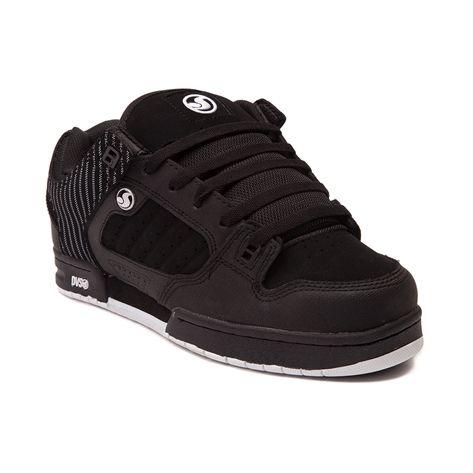 Mens DVS Militia Skate Shoe, Black
