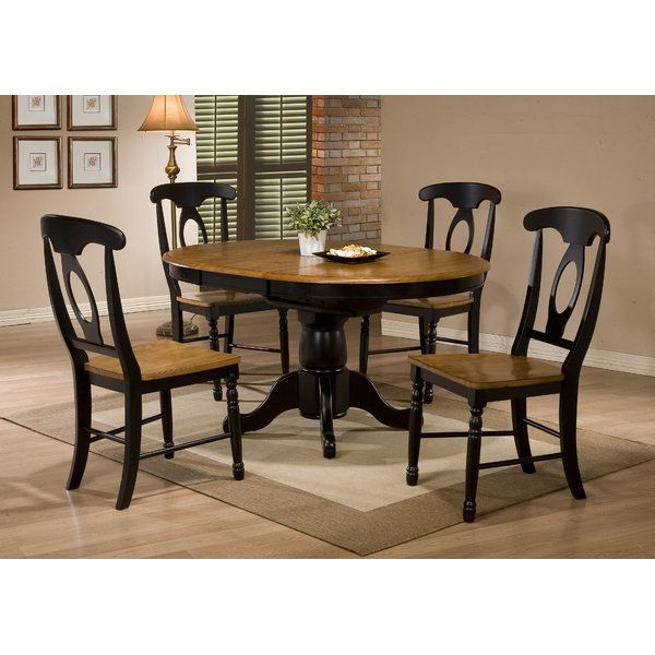 Courtdale 5 Piece Solid Wood Dining Set in 2018 Kitchen idea
