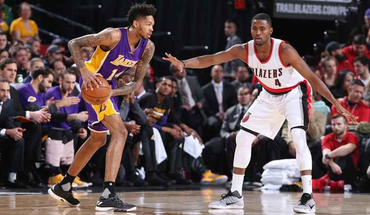 Los Angeles Lakers Vs Portland Trail Blazers Live Stream Watch Nba Summer League Online Game Free Thomas M Lakers Vs Portland Trailblazers Nba Los Angeles