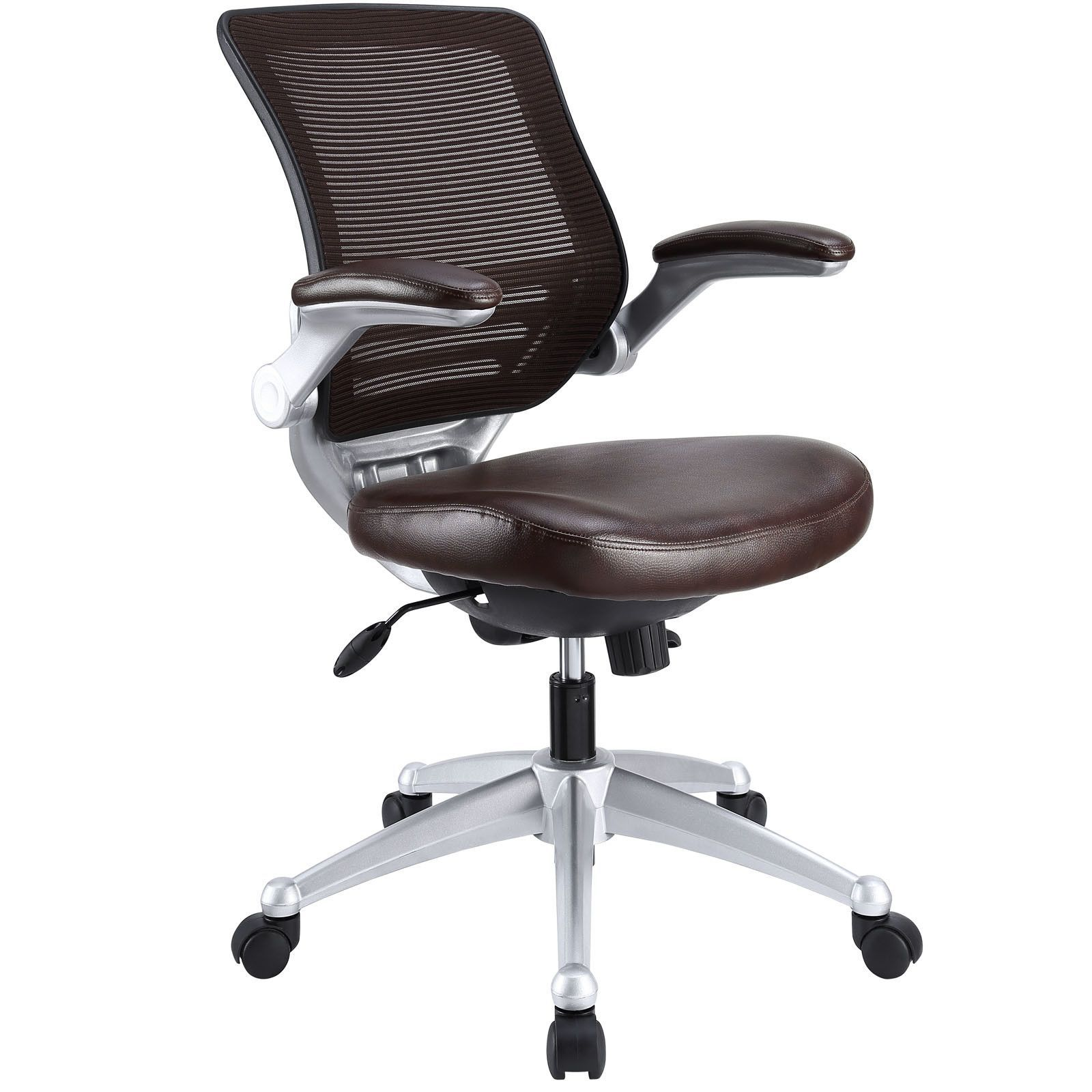 Edge High Back Mesh Executive Office Chair Office Chair Leather