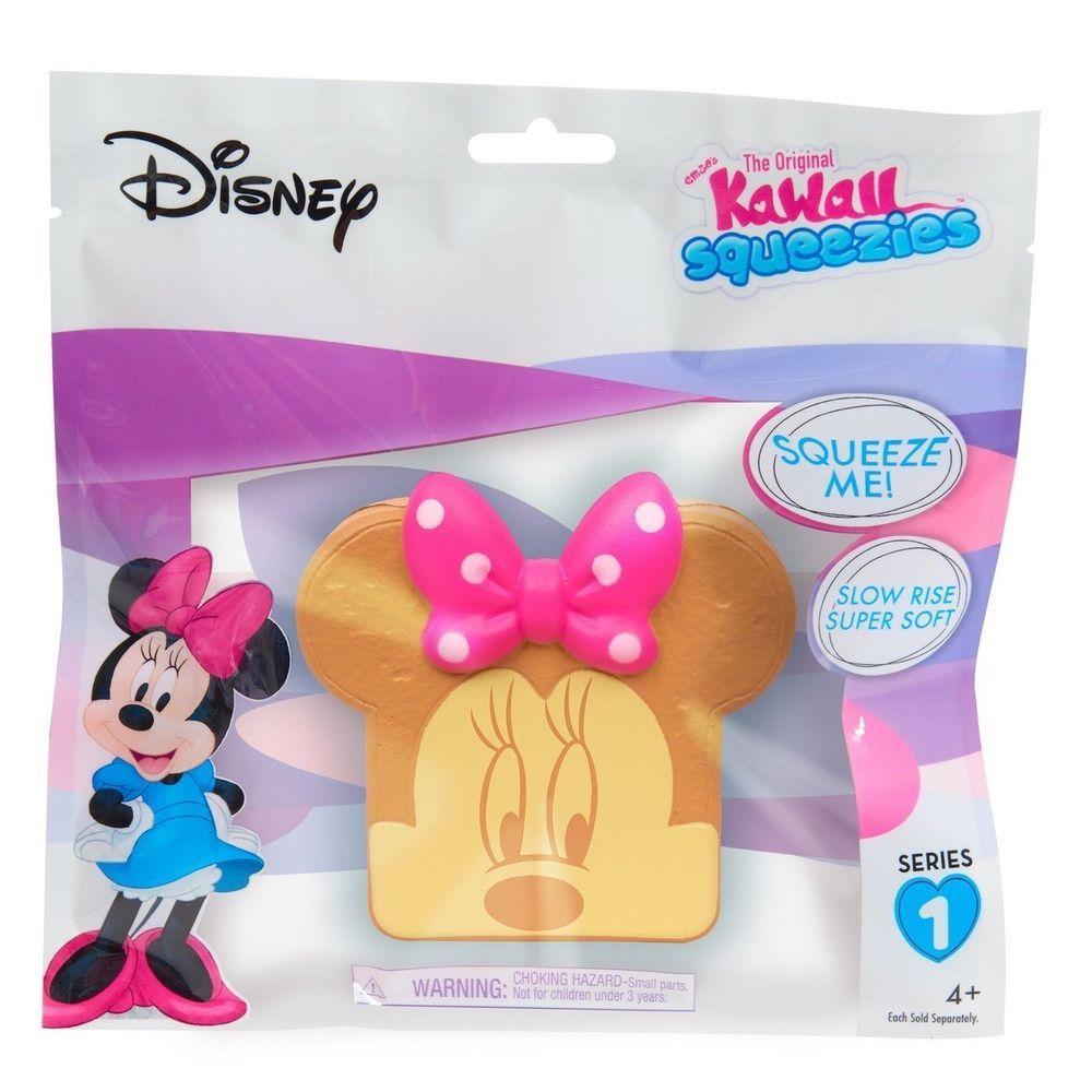 Disney minnie toast series 1 kawaii squeezies new in