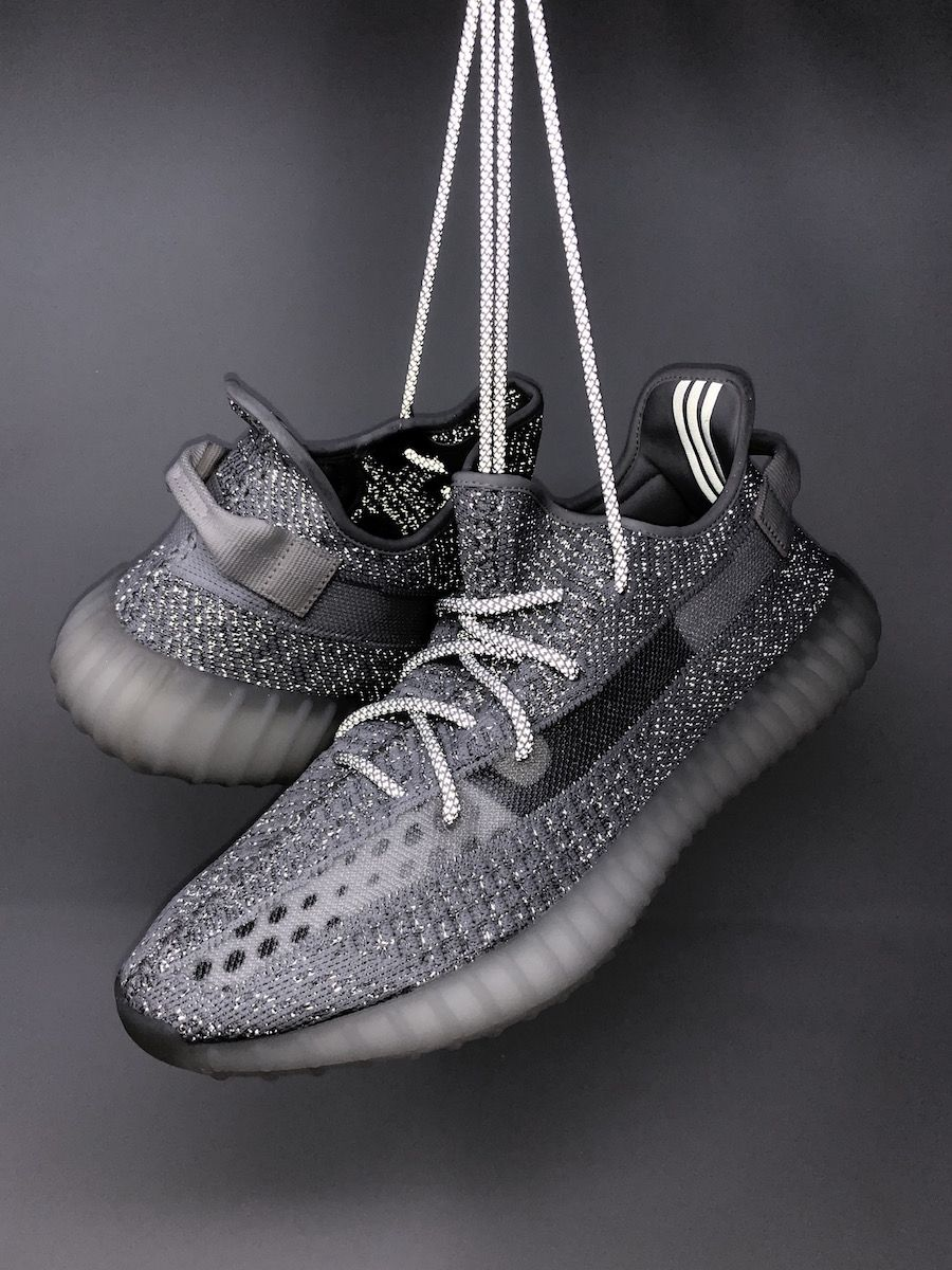 91f12e2f4 adidas Yeezy Boost 350 V2 Static Reflective EF2905 EF2367 Release ...