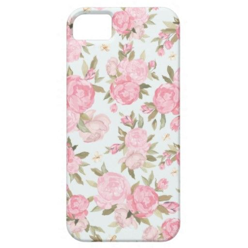 Floral Vintage Case iPhone 5 Cases