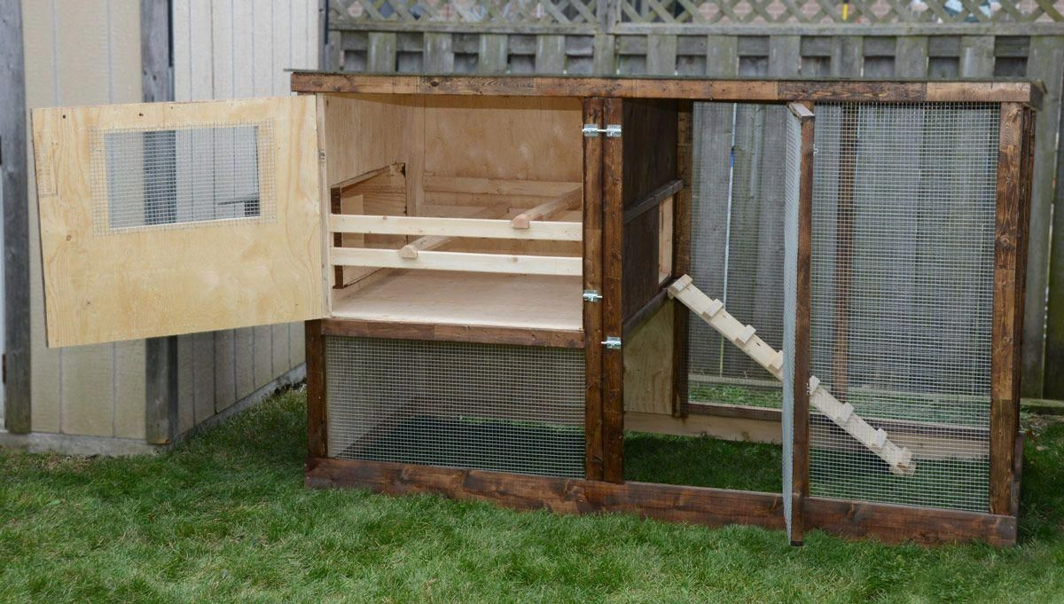 Family Chicken Coop Plans (up to 6 chickens) from My Pet ...