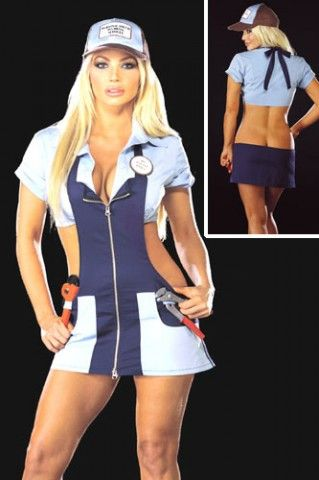 ridiculous sexy halloween costumes plumber