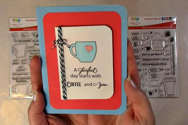 A PERFECT Coffee Card to celebrate the 2016 Spring Coffee Lovers Hop