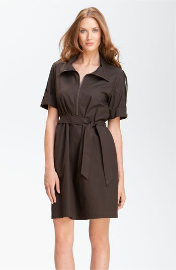 Lafayette 148 New York 'Weekender Cloth' Shirtdress ` Nordstrom