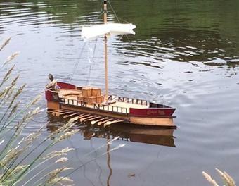 Rudergaleere als Schiffsmodell Modellbau,Schiff ...