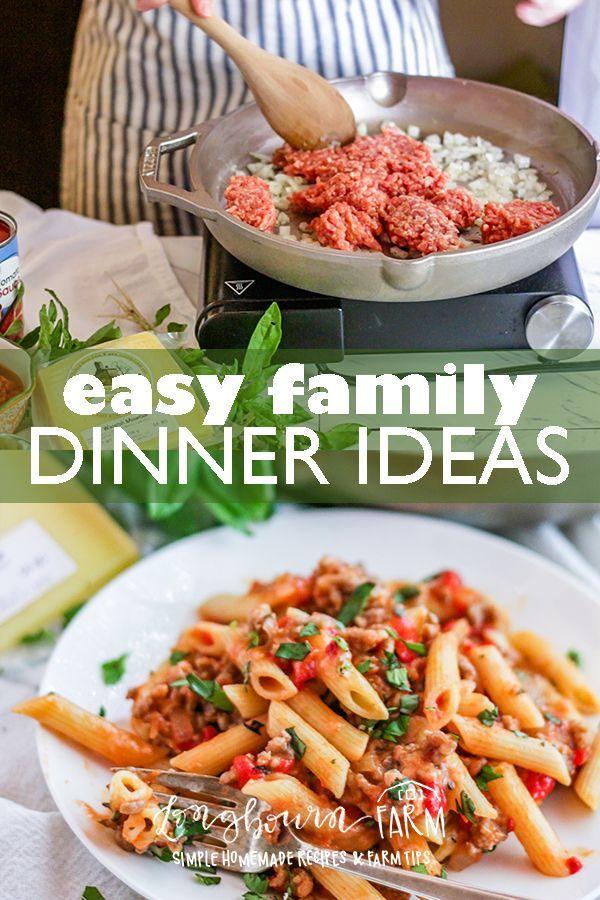 easy family dinner ideas amazing food ideas pinterest dinner