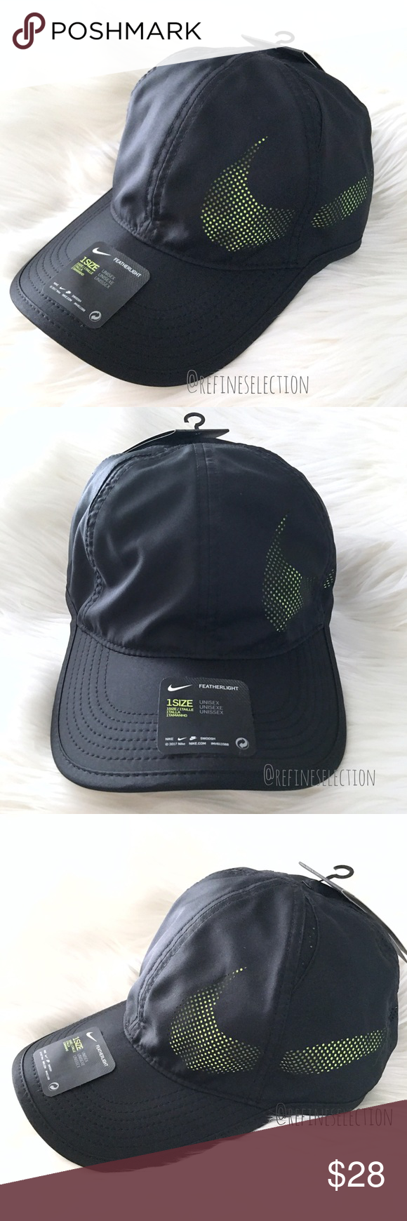 best service ce244 63329 Nike Aerobill Featherlight Perforated Hat Cap Brand new with tags, Adult,  Unisex, One