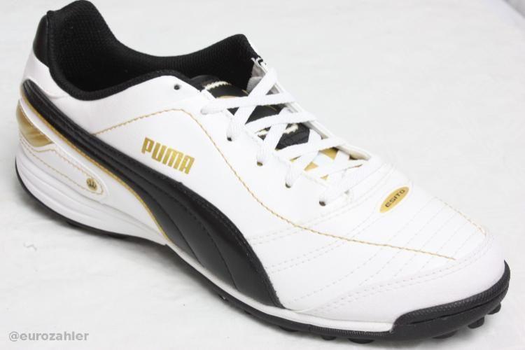 White Puma 02 Gold Esito Weiß Finale Gr 42 Team Black 102011 Schwarz tshrdQ