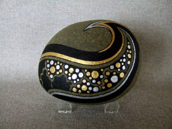 lovely painted stone
