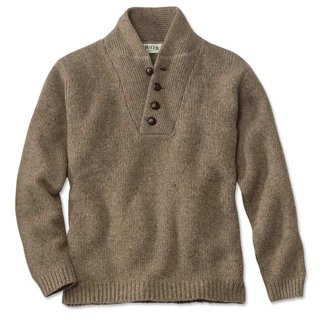 Just found this Wool Sweater - Mechanics Donegal Pullover Sweater -- Orvis on Orvis.com!