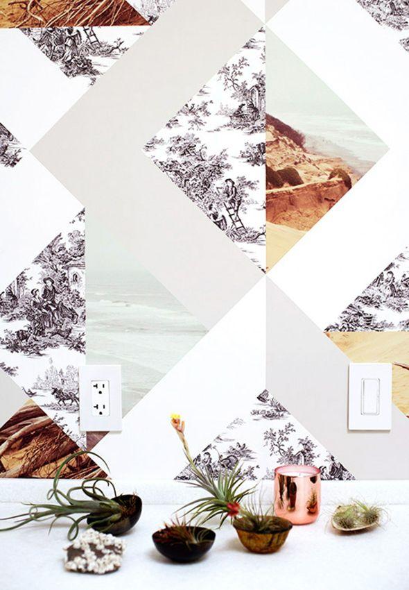 DIY | Design Your Own Wallpaper
