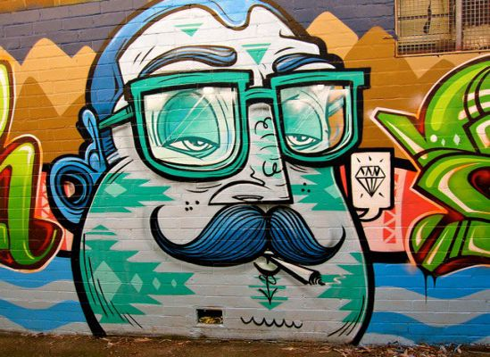 Cool Graffiti Art Characters