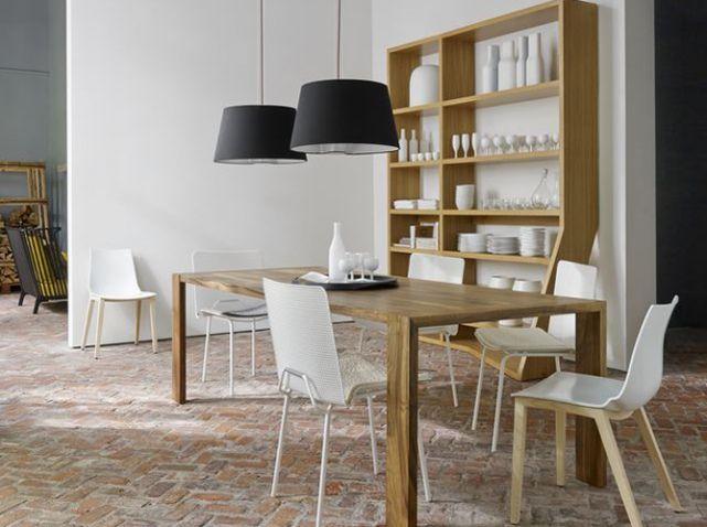 Meuble Vaisselier Salle A Manger Table épurée Déco Biscarosse - Table salle a manger soldes pour idees de deco de cuisine