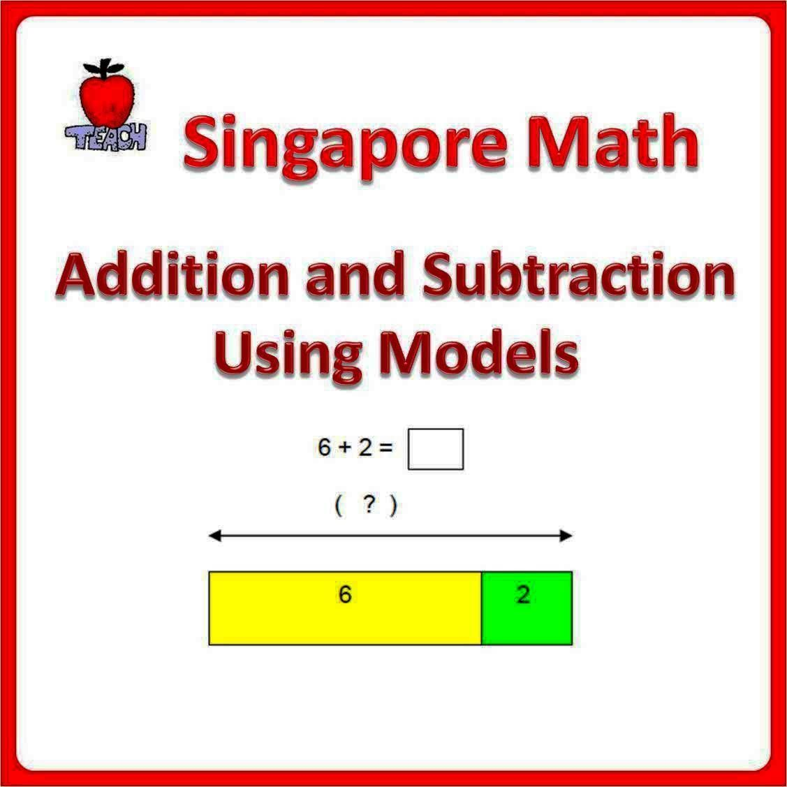 Learn Addition And Subtraction Using Bar Models Make Math Concept