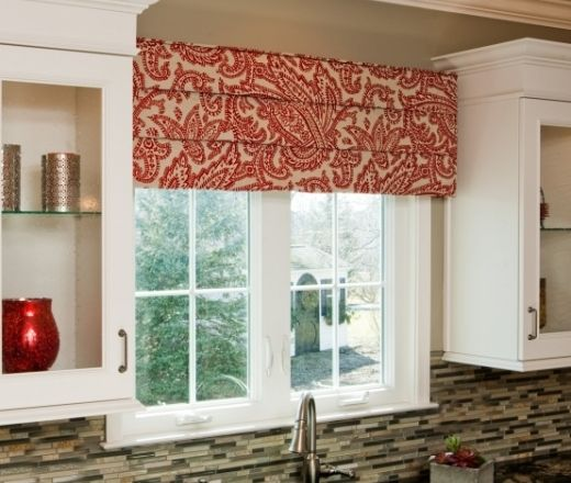 Wood Valance Over Kitchen Sink: Cornice Board For Window Over Kitchen Sink