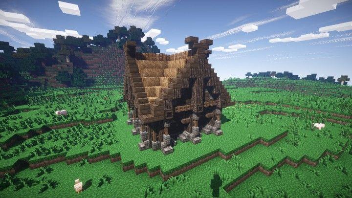Small Viking House Minecraft Project Maison 1