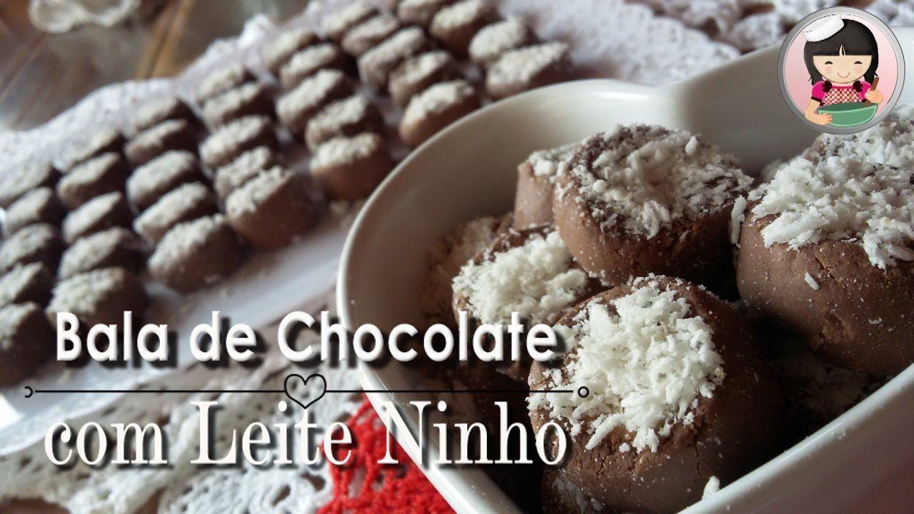 Bala De Chocolate Com Recheio De Leite Ninho Faca E Venda Dika