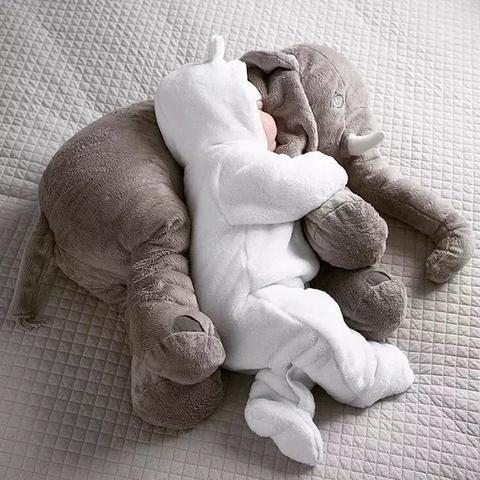 Baby Elephant Soft Stuffed Pillow Giant