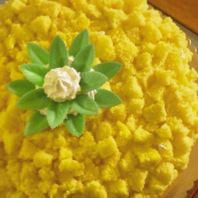 Torta mimosa  #instafood #ilas #ilasSweetness #torta #mimosa #8marzo #festadelladonna #pandispagna  http://ilas.webnode.it/ https://www.facebook.com/ilascake