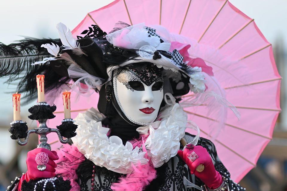 Cindy in Venice Carnival 2020 in 2020 Masken