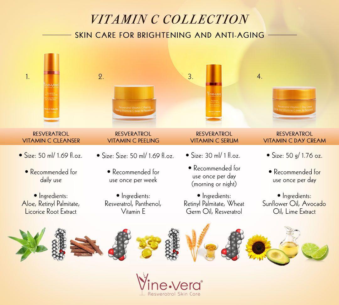 Vitamin C Collection Vine Vera Vine Vera Resveratrol Resveratrol Vitamins