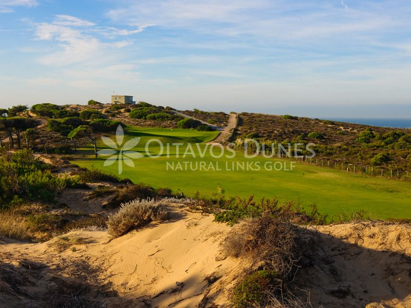 Hole 10 Oitavos Dunes Natural Links Golf Quinta Da Marinha Cascais Portugal Copyright C Oitavos Dunes Luxury Golf Holidays Portugal Golf Resorts Portu