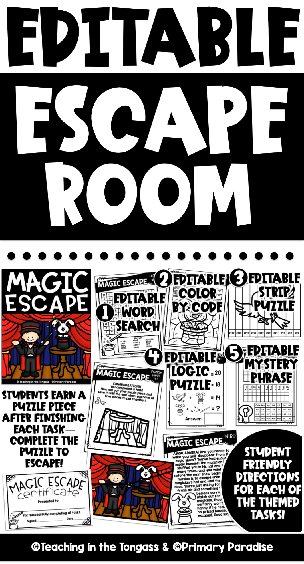 Magic Escape Room For Kids Escape Room Zoo Activities Winter Activities For Kids