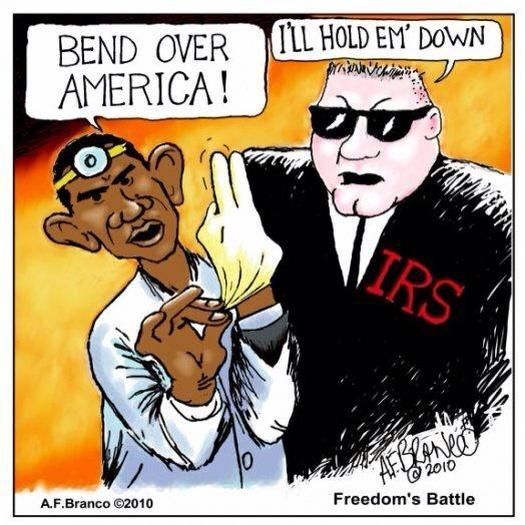 If you think the IRS scandal is bad now... Here comes ObamaCare…
