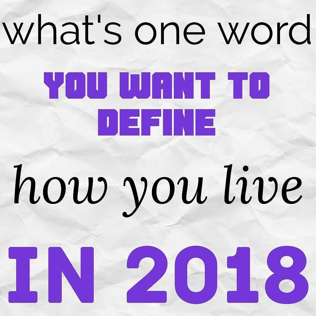 one word define motivate love live purposefully healthly