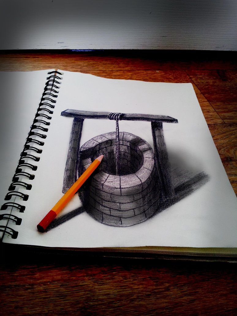 Oh well by jjkairbrush on deviantart 3d pencil drawing with real pencil