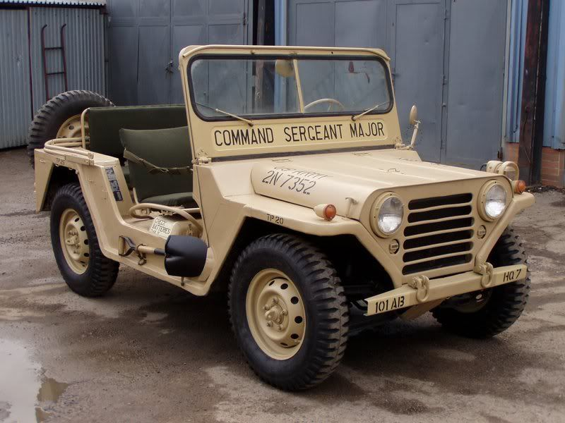Mutts M151 4x4 Military Jeep Willys Jeep Jeep