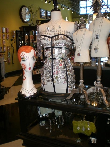 We have mannequin heads and dress forms at wwwMannequinMadnesscom