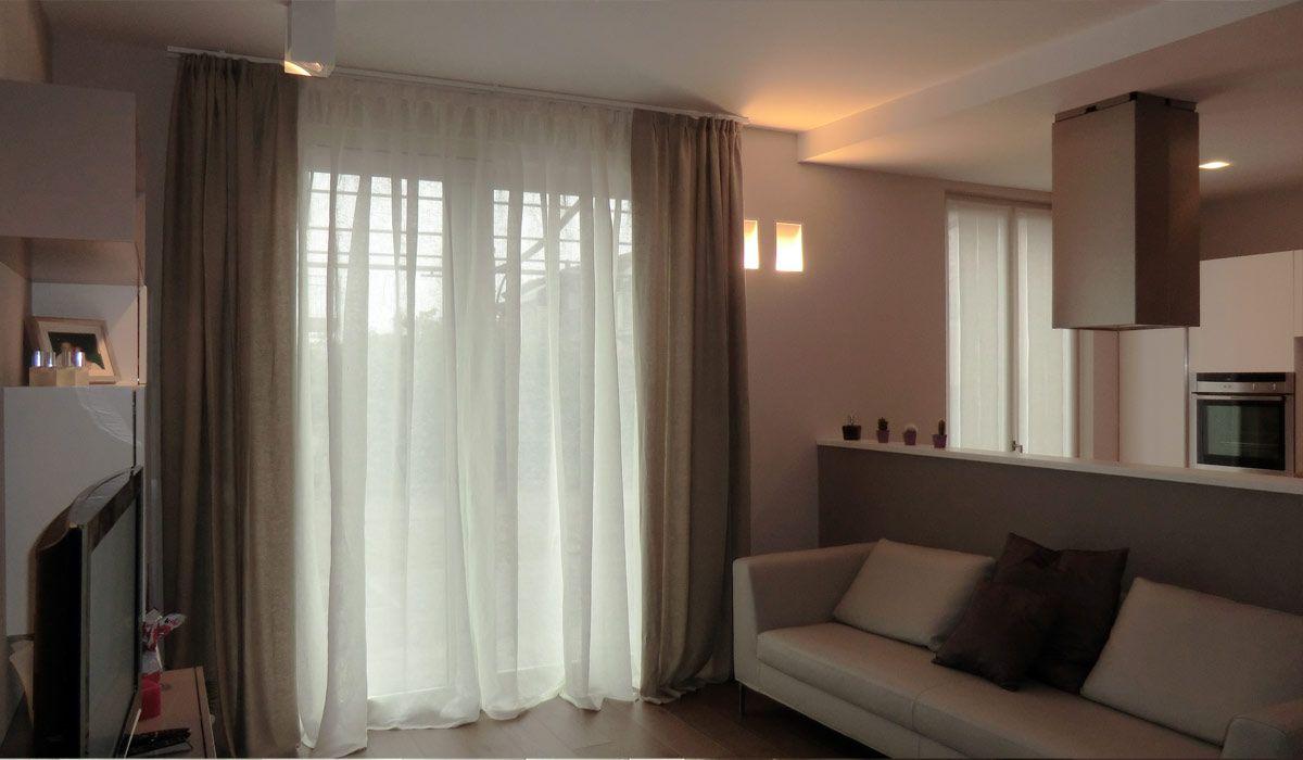 Di conseguenza, le tende da salotto devono spiccare in casa per la. Tende Morbide Moderne Tende Soggiorno Tende Per Interni Tende Salotti