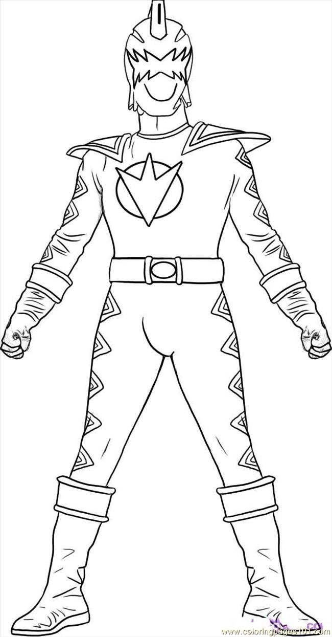 Power Rangers Coloring Pages To Print | Coloring Pages Rangers Dino ...