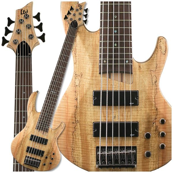 The ESP B206 6 String Bass GuitarsAcousticElectric