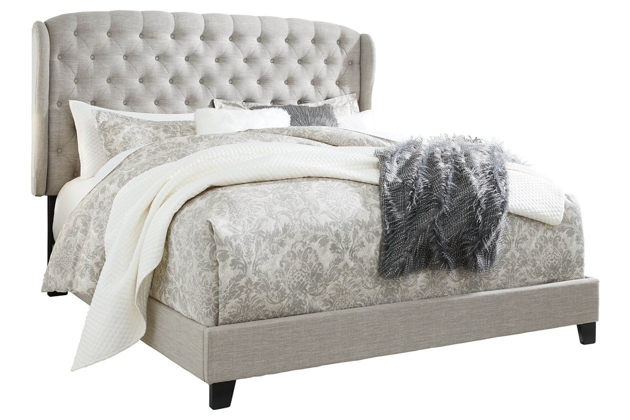 Best Jerary Queen Upholstered Bed Ashley Furniture Homestore 400 x 300