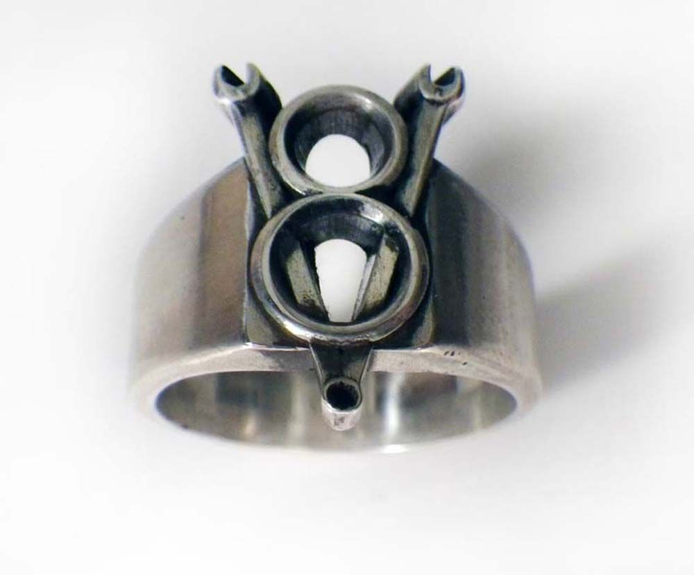 V8 Wrench Ring by Hi Octane Jewelry Jewelry Jewellery