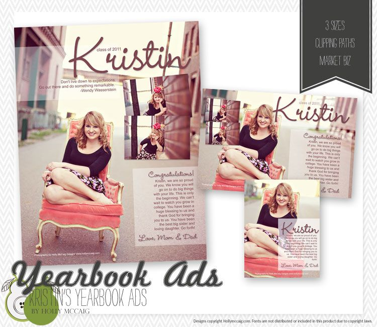 Senior yearbook ad biz pinterest senior yearbook ads and yearbooks for Senior yearbook ad ideas