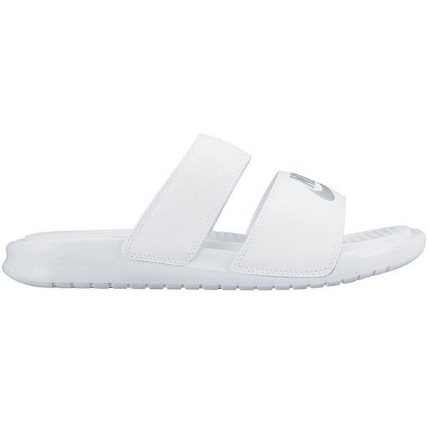 a4d7116c0 Nike Benassi Duo Ultra Women s Slide Sandals ( 30) ❤ liked on Polyvore  featuring shoes