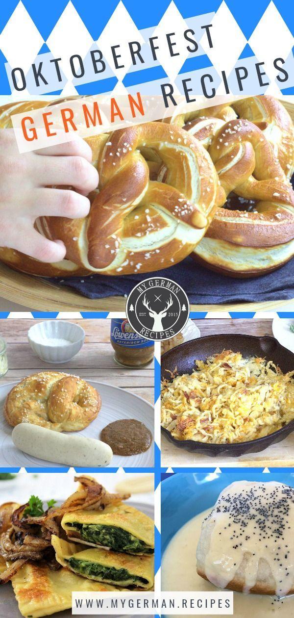Traditionelle deutsche Oktoberfestrezepte - lernen Sie, wie man sie mit ...   - Celebrate Oktoberfest Party #octoberfestfood